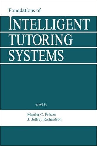 Téléchargez des livres d'anglais gratuits en ligneFoundations of Intelligent Tutoring Systems (Interacting with Computers Series) 0805800549 DJVU