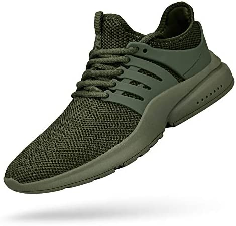 Kanarder Mens Walking Sneakers Athletic Lightweigh Casual Mesh Comfortable Walk Shoes