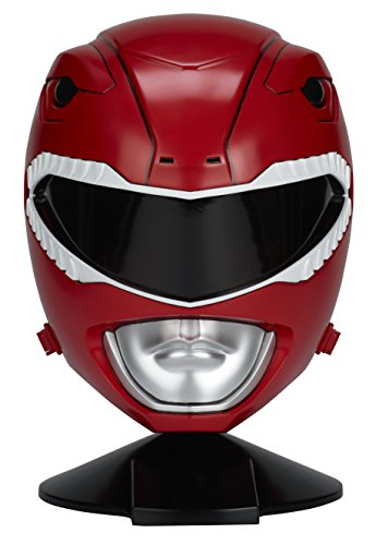 Power Rangers Mighty Morphin Legacy Ranger Helmet, Red (Power Rangers Helmet)