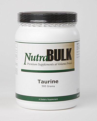 NutraBulk Premium Taurine Powder - 500 Grams