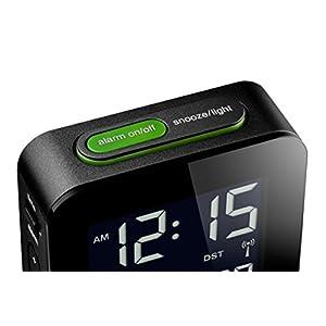 BRAUN BNC008BK-RC - Reloj Despertador Digital Negro 5