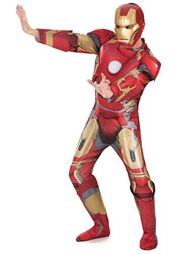 Iron Man Mens Costumes - Iron Man Mark 43 Marvel Men Costume Multi, Standard