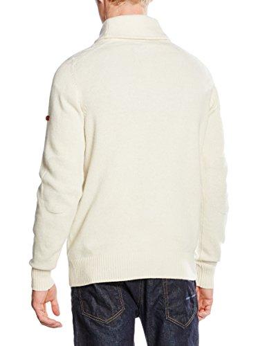Ben Sherman - Herren Pullover - Textured Shawl Collar - Gr. XL