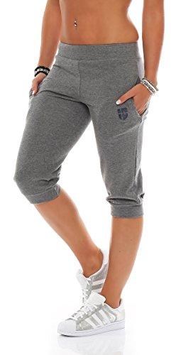 Gennadi Hoppe Señoras pantalones Capri 3 4 deportivos  Amazon.es  Ropa y  accesorios 6d4b75ade5c1