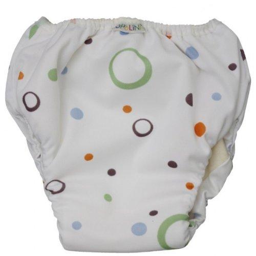 Popolini–Pantaloni da bambini, taglia piccola, con motivo bolle 9006720002479