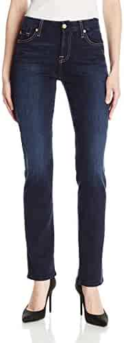 7 For All Mankind Women's Kimmie Straight-Leg Jean