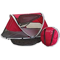 KidCo PeaPod Infant Travel Bed in Cranberry