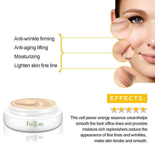 41U2wNUnTvL - FeelTure Peptide Moisturizer Anti Aging Face Cream - Face & Neck Wrinkle Lotion - Reduce Appearance of Wrinkles, Dark Circles, Fine Lines & Acne - 1.76 oz
