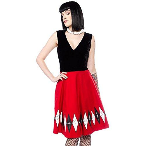 Sourpuss-Hostess-Dress-BlackRed