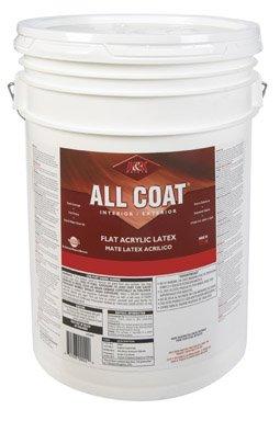 Exterior Acrylic - H&K Paint Company Acrylic Latex Paint Interior/Exterior Flat Basic White 5 Gl