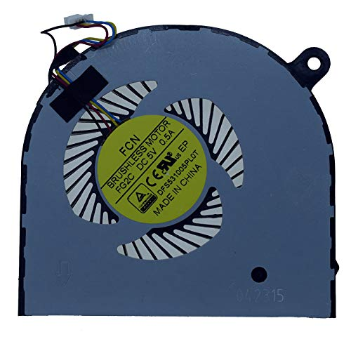 Rangale Replacement GPU Cooling Fan for Acer Aspire VN7 Nitro VN7-591 VN7-591G Series Laptop FG2C DFS531005PL0T(GPU Fan)