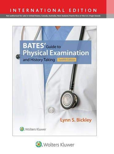 Bates Guide To Physical Examination And History Taking 11Ed (Pb 2016)