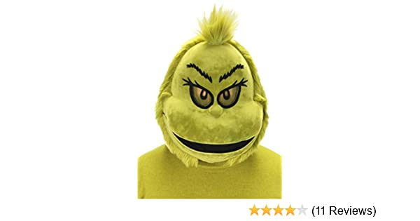 Plush Mouth Mover Adult Mask ELOPE The Grinch