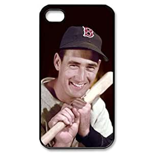 MLB iPhone 4,4S Black Boston Red Sox cell phone cases&Gift Holiday&Christmas Gifts NADL7B8825277