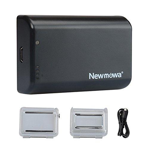 Newmowa 2500mAh Power Battery Bacpac for Gopro Hero4,Hero3,Hero2 (Waterproof Backdoor Case and Standard Backdoor Case only for Gopro Hero4)