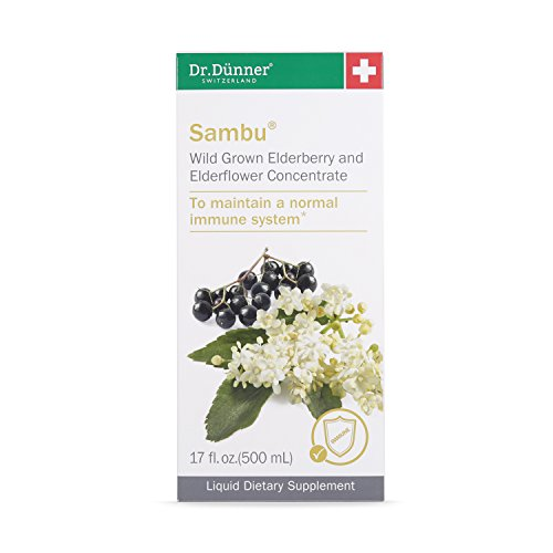Dr.Dünner Sambu Elderberry Syrup with Elderflower, 17-Ounces by Dr. Dunner. (Image #1)