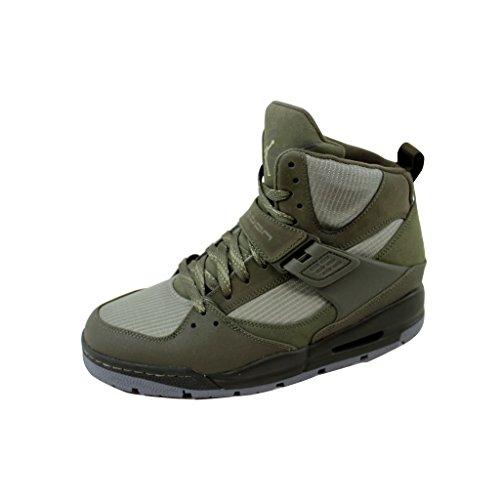 Nike Men's NIKE JORDAN FLIGHT 45 TRK BOOTS 8.5 Men US (CARGO KHAKI/ROGUE GREEN) by NIKE