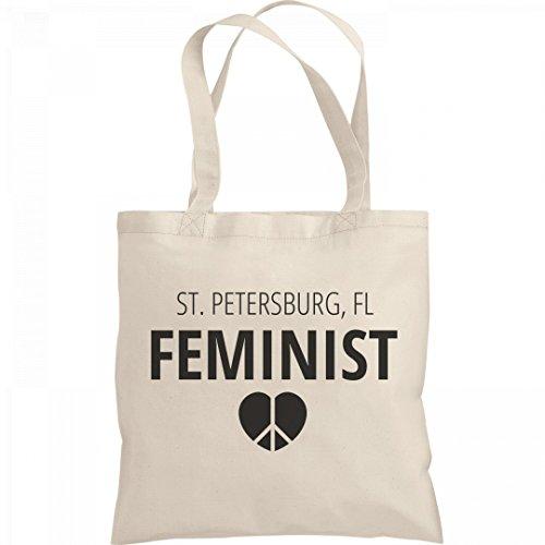 Feminist St. Petersburg, FL Tote Bag: Liberty Bargain Tote - Petersburg Fl Shopping St