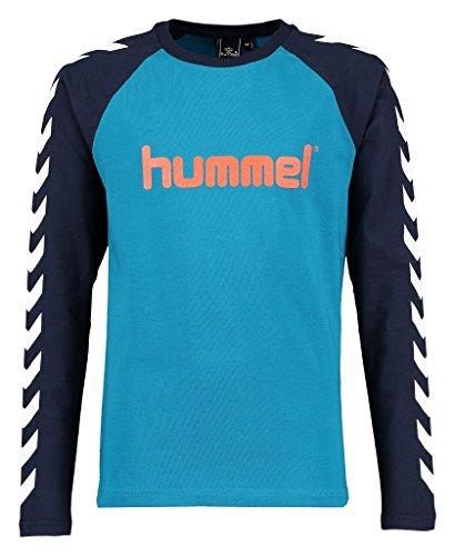 Hummel Jungen Boys LS Tee AW16 T-Shirt, Seaport, 140