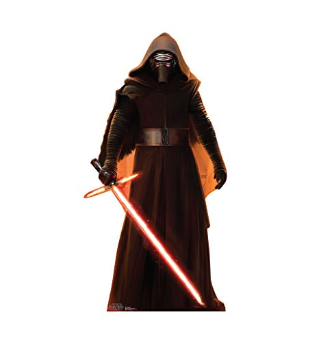 Kylo Ren - Star Wars Episode VII: The Force Awakens - Advanced Graphics Life Size Cardboard Standup (Standee Out Cut)