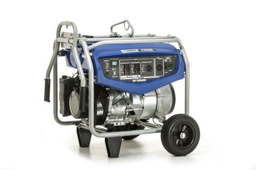 Yamaha EF7200D Generator with Manual Start, 7200-watt