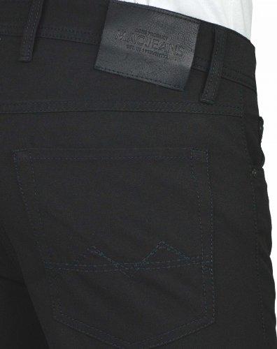 MAC Jeans Arne Carbonium Gabardine - schwarz, Größe:W36 L30