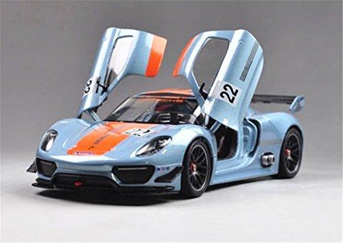 1:24 Welly Porsche 918 RSR Diecast Model Car New in Box - Diecast Model