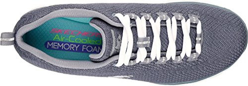 Skechers Synergy Safe and Sound, Zapatillas de Running para Mujer gris
