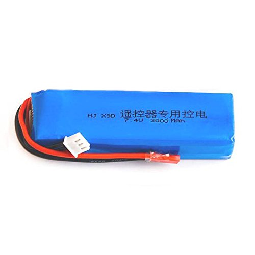 Price comparison product image Quickbuying 2017 2S 7.4V 3000mAh Lipo Battery Upgrade Safe For Frsky Taranis X9D Plus Transmitter 95x27x26mm RC Toys Model