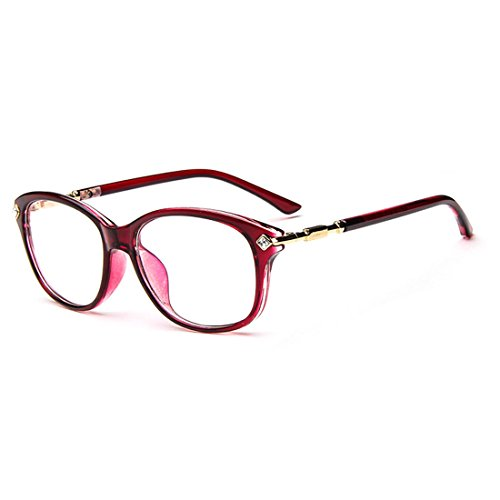 D.King Fashion Womens Cateye Prescription Rxable Eyeglasses Frames - Frames Eyeglass Bling