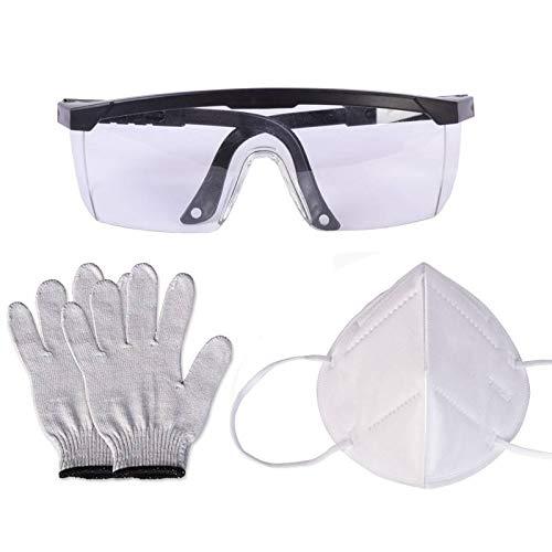Huanyu Accessories Belt Sander Glove Mask Glasses