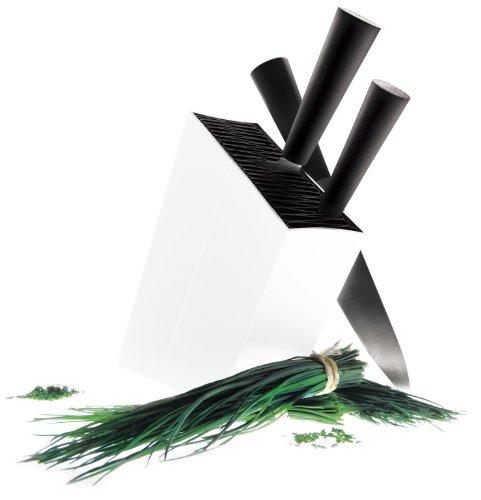 Eva Solo Angled Aluminum Knife Stand, White by Eva Solo