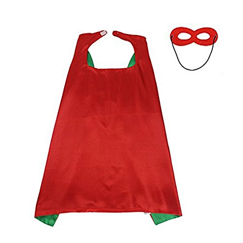 Satin Cape Superhero Custom Dress Up for Christmas/Halloween