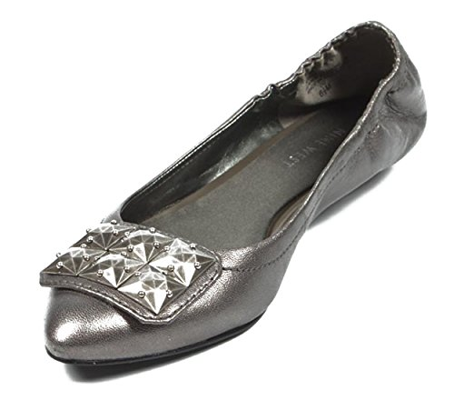PEWTER Nine Ballerina NWDAGNER West Womens qq1RwfHaI