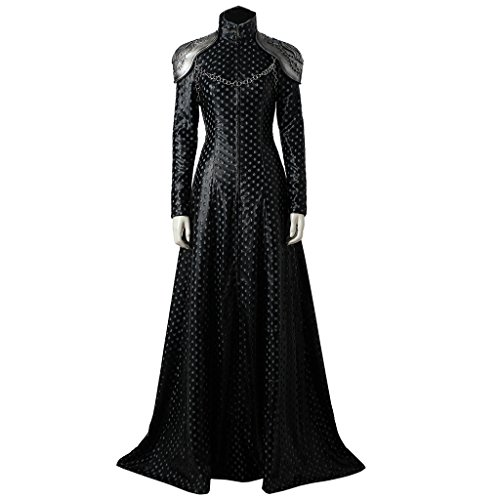 Game Of Thrones Cersei Costume (CosplayDiy Women's Dress for Game of Thrones Season VII Cersei Lannister Cosplay (L))