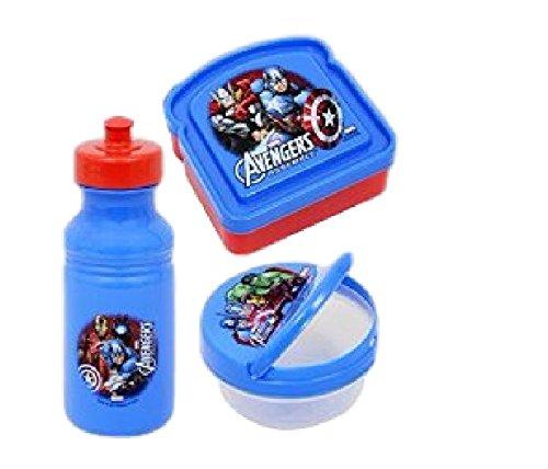 Avengers Lunch Kit ~ Water Bottle ~ Snack Bowl ~ Sandwich Co