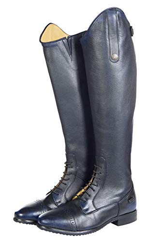 Equipment Sports HKM Length 41 Color Regular Size Boots Width Valencia Dark blue Riding 51AdqWxOw1