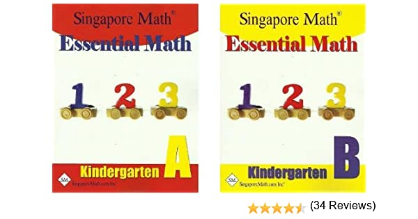 Essential Math Kindergarten SET--Books A and B: 0852668812675 ...