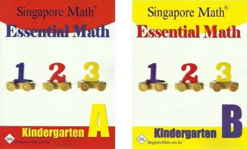 Essential Math Kindergarten SET--Books A and B (Math Singapore)