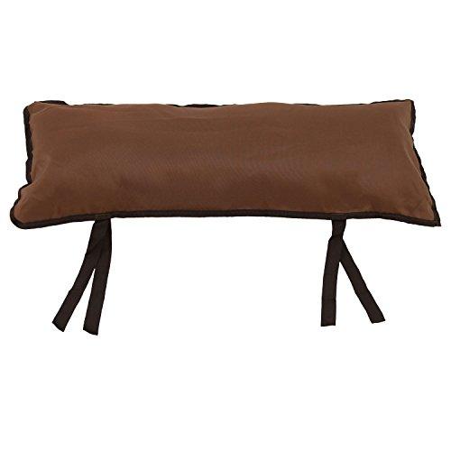 Best Hammock Pillow - Sunnydaze Large Hammock Pillow with Ties,