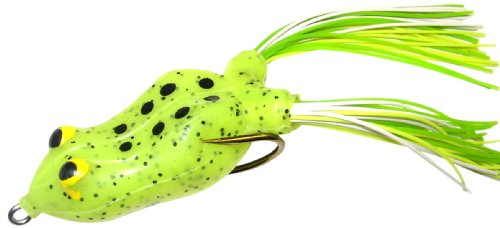 Snag Proof 6405 Moss Master Tournament Frog, 1/4 ounce (Chartreuse, (Snag Proof Frog)
