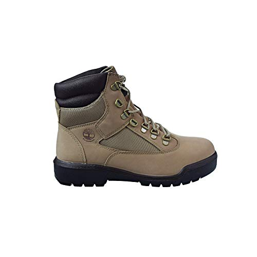 Timberland 6 Inch Field Waterproof Men's Boots Beige Nubuck tb0a1nzk (9 D(M) US) ()