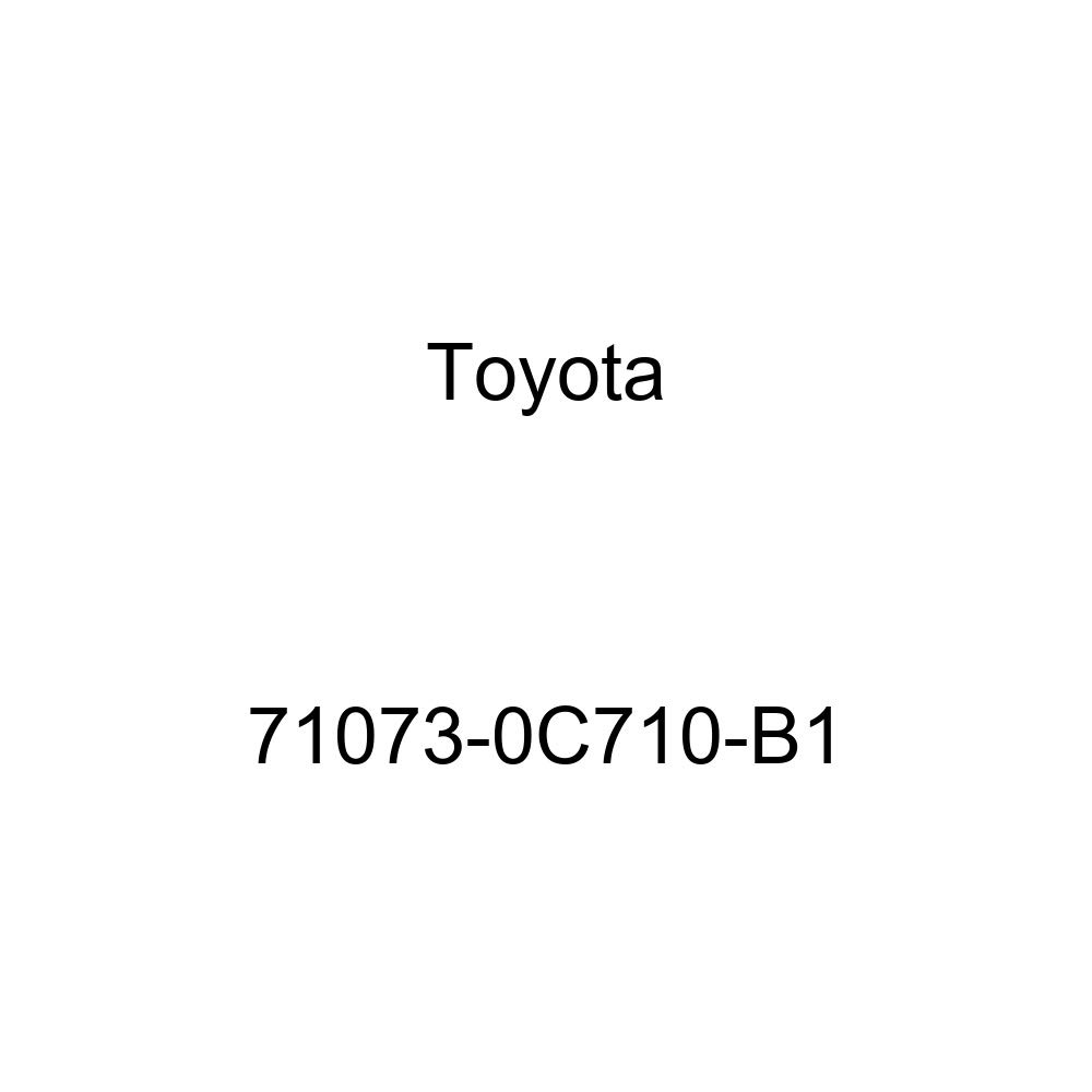 TOYOTA Genuine 71073-0C710-B1 Seat Back Cover