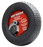 Wheelbarrow Tire, Knobby, 16 In. Dia.