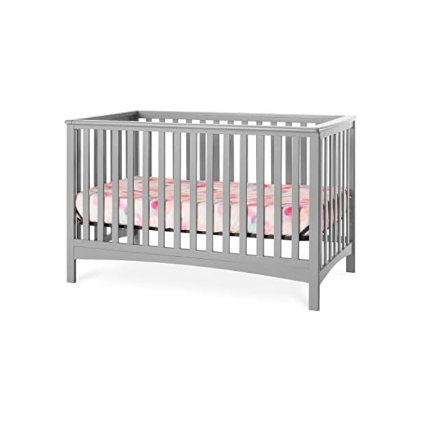 Forever Eclectic London 4-in-1 Convertible Crib (Cool Gray)