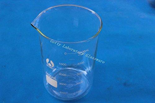 PYREX Glas Material Lab Becherglas mit breitem Mund 5000/ml 5/Liter