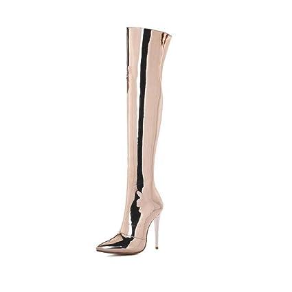 52e367115162d Amazon.com: YaXuan Women's Over-kneeboots, Fall Winter Long Boots ...