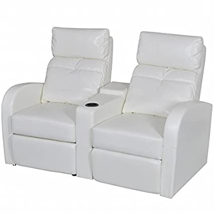 Amazon Com Skb Family Artificial Leather Home Cinema Recliner