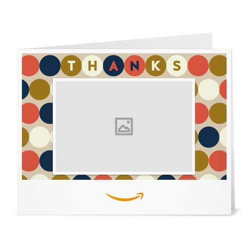 Halloween Ecards Add Photo (Amazon Gift Card  -  Thanks Circles (Your)