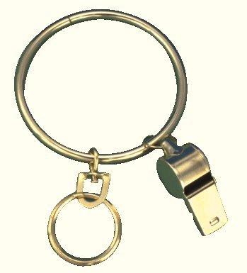 Jailer's Key Ring, pack of 2